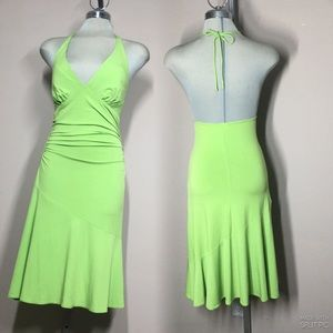 Summer Dress, Polyester Spandex Size L
